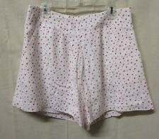 LAUREN CONRAD~SMALL~Women's Pleat Front Disney Alice In Wonderland Soft Shorts