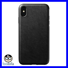Nomad Horween Rugged Case Vegetable Tanned Genuine Leather iPhone XS Max Black