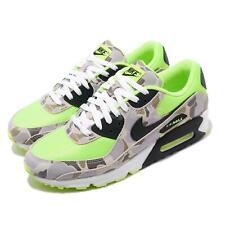 Nike Air Max 90 SP Ghost Green Duck Camo Volt Black Men Fashion Shoes CW4039-300