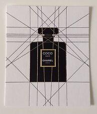 Très Jolie carte parfumee Chanel Nouveau Parfum Coco Noir