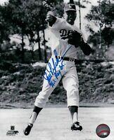 """Jim Lefebvre Signed 8X10 Photo """"NL ROY 65"""" Autograph Dodgers B/W Auto w/COA"""
