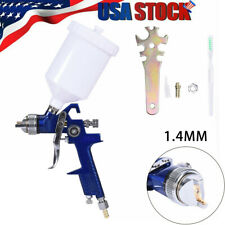 Air Paint Spray gun Hvlp Gravity Feed 1.4 Tip Auto Car Detail Sprayer air tool