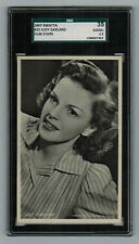 SGC 2.5  JUDY GARLAND 1947 Kwatta Chocolates Film Stars Card #33 LARGE SIZE CARD