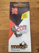 London 2012 Olympic Games Mascot Wenlock Limited Edition Pin