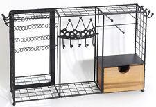 Schmuckkasten Holz/Metall als Garderobe (932329) Schmuckständer
