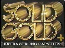 SOLID GOLD+ - Male Enhancement Capsules x 4 MAX STRENGTH Boost *UK SUPPLIER*