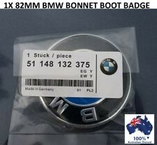 1X BMW REPLACEMENT 82MM BOOT TRUNK BONNET BADGE EMBLEM E38 E39 E46 E60 E90 X5