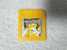 Nintendo Game Boy, Gameboy Color Spiel, Pokemon Gelbe Edition auf Deutsch