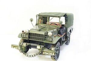Handmade Jeep Military Vehicle Decoration Fashion Personality Metal Model
