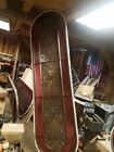 antique / vintage stained glass window VERY LARGE  9 FOOT TALL 30' WIDE