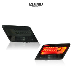 VLAND LED Tail Lights for Honda Accord 2008-2012 LED Brake Tail Lamp Smoked Lens