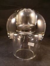 STUNNING FINLAND CLEAR GLASS OIL BURNER VERY HEAVY