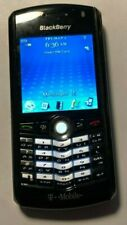 READ @@ BlackBerry Pearl 8100 Black Cell Phone T-Mobile Fast Ship Excellent Used