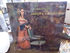 Amelita Galli-curci - voix immortelles - Tito Schipa  - RCA 430.361