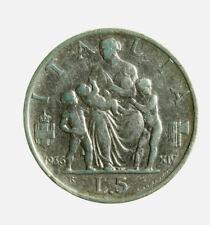 s647_38)  Vittorio Emanuele III (1900-1943) 5 lire  Fecondità 1936