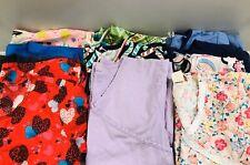 Lot Of 11 Womens Size Small Scrubs Uniform Tops Shirts