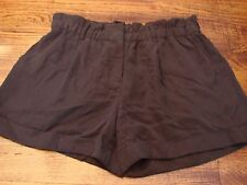 BCBG Max Azria Women's Shorts Tasha Black Large New NWT