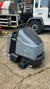 Karcher CV 85/2 RS Ride on sweeper vaccum cleaner Ride Hoover, Industrial Hoover