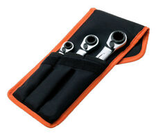 Bahco S4RM3T Reversible Ratchet Spanner Set