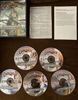 EverQuest: Titanium Edition PC Game Complete 5 Discs Includes 10 Expansions