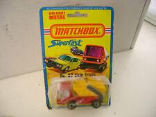 1975 MATCHBOX LESNEY SUPERFAST #37 SKIP TRUCK NEW ON DAMAGED CARD