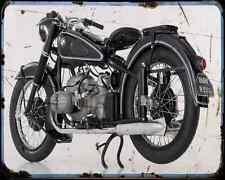 Bmw R 51 3 A4 Photo Print Motorbike Vintage Aged