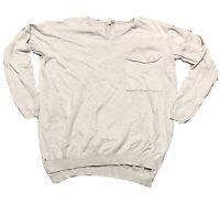 Orange Creek Boutique Boho Women's Sweater Top Oversized Long Sleeve Size M/L