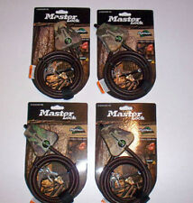 Camo Master Lock Python Cables Fits Stealth Cam, Covert, Primos Scouting Cameras