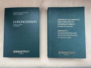 AUDEMARS PIGUET ROYAL OAK OFFSHORE CHRONOGRAPH GENUINE PAPERS / 3126/3840