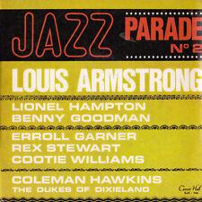 JAZZ-PARADE No. 2 Louis Armstrong / Lionel Hampton / Ben Goodman - 6 Track EP