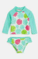 80% OFF! AUTH LITTLE ME FLORAL 2PC RASHGUARD SWIMWEAR 6-9 MONTHS BNEW SRP$29.50+