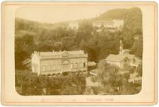 France, Puy-de-Dôme, Châtel-Guyon, établissement thermal, ca.1880, vintage album