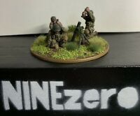 Warlord Games Bolt Action US Airborne Medium Mortar Team Well Painted And Based