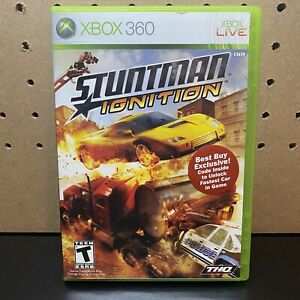 Stuntman Ignition - Microsoft Xbox 360 - Complete & Tested - Free Shipping