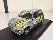 Norev Renault Super 5 GT Turbo Tour de Corse 1989 A. Oreille 1/18 185215