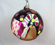 Vintagbe Christopher Radko Sweet Somethings Fruit Candy Glass Ornament Rare