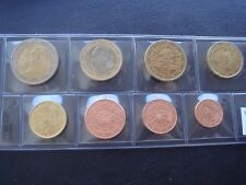 Austria 2010 year UNC coin set from 1 cent - 2 euro total 8 coins 3,88 euro