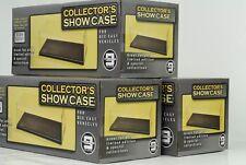 3 x Vitrine / Showcase Acryl 270 x 125 x 112 mm // ohne Auto / Figur 1:24