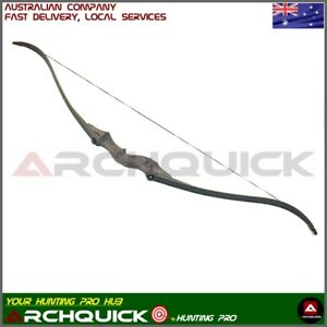 """ARCHQUICK Archery 58"""" Recurve Hunting Bow Target & Hunting 30-60lbs Pro R/L"""