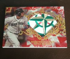 2015 TOPPS TRIBUTE ROBINSON CANO GU DIAMOND CUTS RED PATCH 1/1 SICK