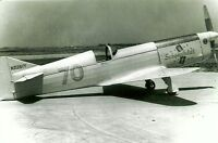 3 4X6 CLARE VANCE/'S FLYING WING MASON METEOR RACING AIRPLANE PHOTOGRAPH SET #64