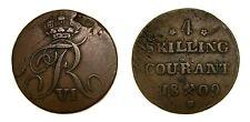 Norway 1809, 4 Skilling, KM-275.1, Good VF+  5027
