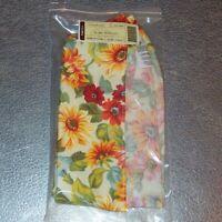 Longaberger Sunflower LONG SERVING Basket Liner ~ Brand New in Original Bag!