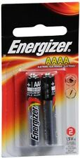 Energizer Alkaline Batteries AAAA 2 Each (Pack of 8)