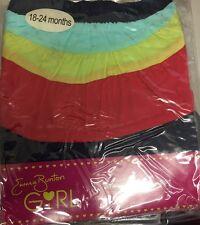 Emma Bunton Girl Girls Colour Block Skirt 18-24 Months 100% Cotton