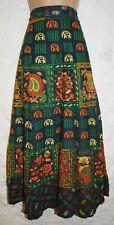 New Cotton Wrap Skirt 10 12 14 16 Hippy Ethnic India Hippie Floral Boho