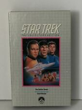 """Star Trek TV Series VHS Tape, """"The Collectors Edition"""" Two Episodes"""
