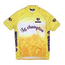 Pearl Izumi Mens 2006 TdF Tour de France Yellow Cycling Jersey Size M Le Champ