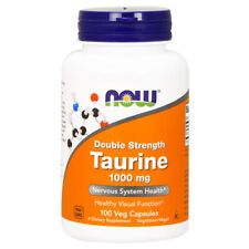 Taurine Double Force, 1000mg X 100 Végétarien Capsules - Now Foods