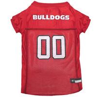 Georgia Bulldogs NCAA Pets First Licensed Dog Pet Mesh Jersey XS-2XL NWT